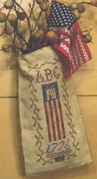 Liberty House Hanging Pouch - Homespun Elegance