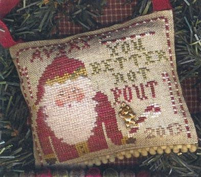 You Better Not Pout - Homespun Elegance