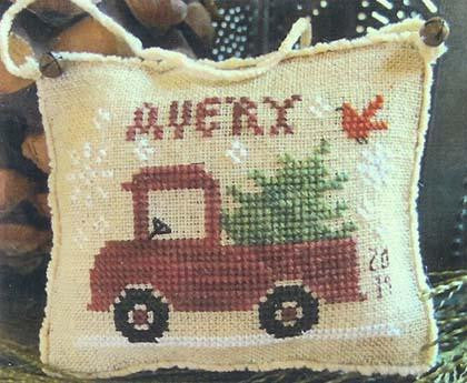 Avery's Little Red Truck - Homespun Elegance