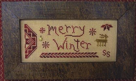 A Quaker Year, Merry Winter - Homespun Elegance