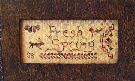 A Quaker Year, Fresh Spring - Homespun Elegance