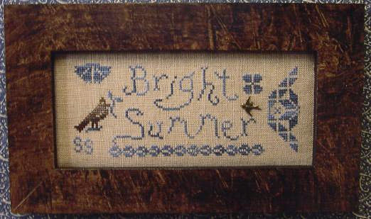 A Quaker Year, Bright Summer - Homespun Elegance