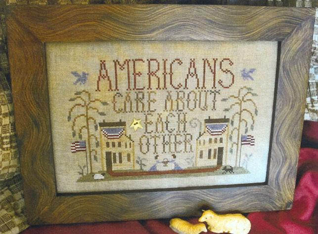 Americans Care About Each Other - Homespun Elegance