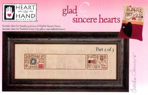 Glad & Sincere Hearts 2 - Heart in Hand