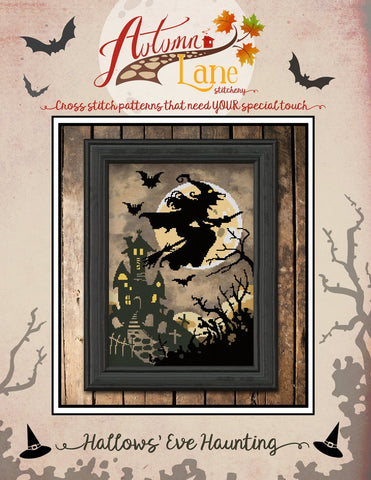 Hallows Eve Haunting - Autumn Lane Stitchery