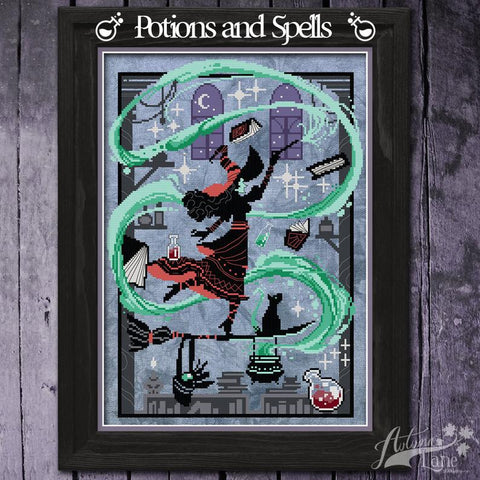 Potions And Spells - Autumn Lane Stitchery