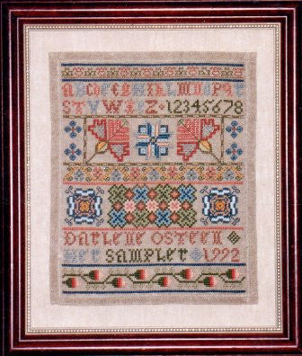 Mary's Sampler - Needle's Prayse