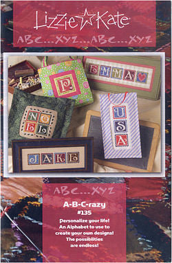 A-B-Crazy Alphabet - Lizzie Kate