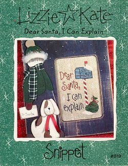 Dear Santa, I Can Explain - Lizzie Kate