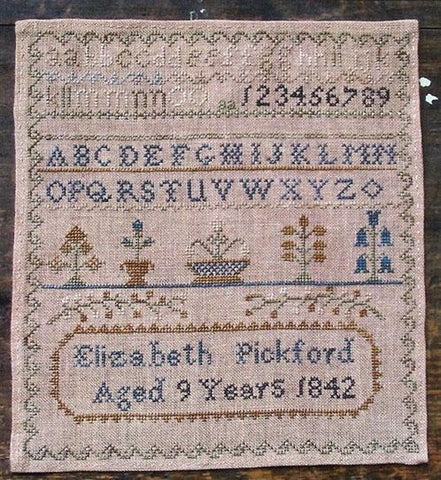 Elizabeth Pickford 1842 - Pineberry Lane