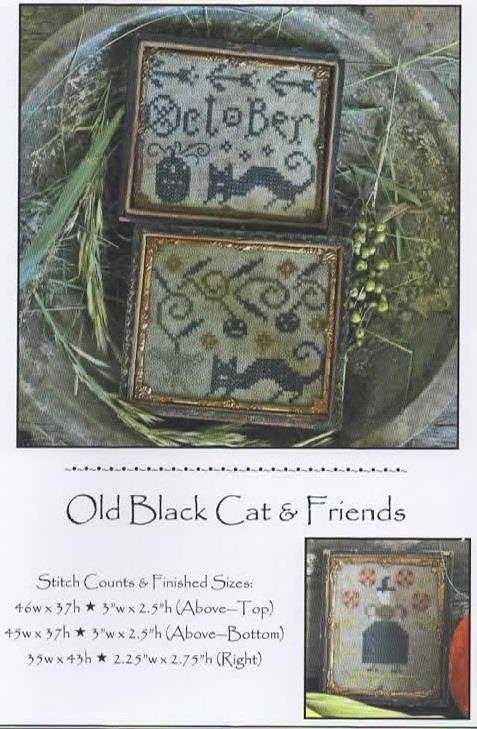 Old Black Cat & Friends - Pineberry Lane