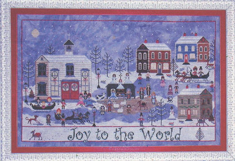 A Churchyard Christmas - Praiseworthy Stitches