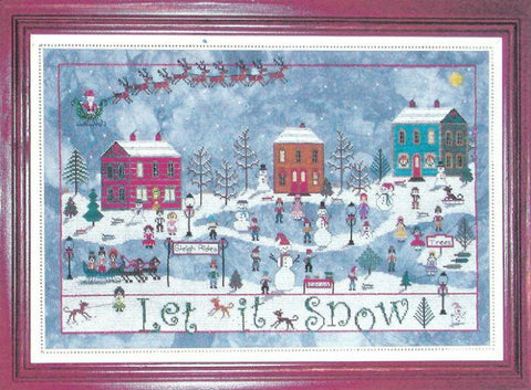 December Snow - Praiseworthy Stitches