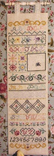 Victorian Good Luck Sampler - Rosewood Manor