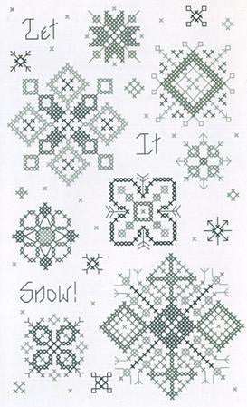 Let It Snow Notecard - Rosewood Manor