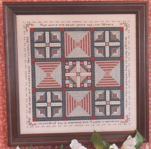 Abe & Mary Lincoln's Quilt Sampler - Rosewood Manor