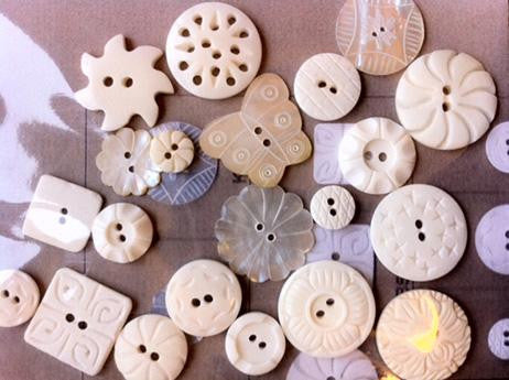 Barnwood Buttons / Button Pack - Rosewood Manor