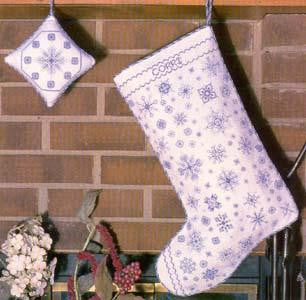 Let it Snow Christmas Stocking - Rosewood Manor