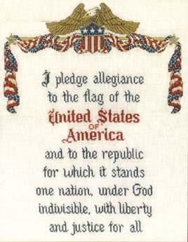 An American's Pledge - Sue Hillis Designs