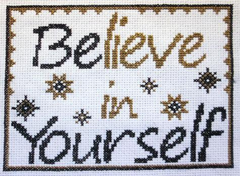 Be Yourself - Stitcherhood