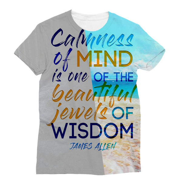 Serenity - James Allen Sublimation T-Shirt
