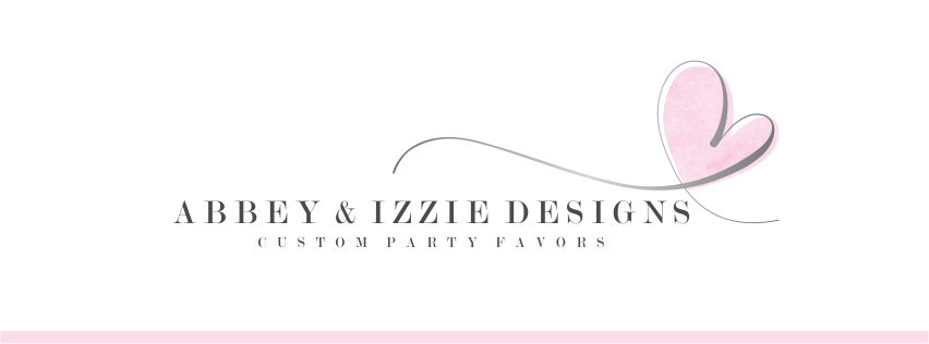 abbey and izzie designs, wedding favors, unique party favors for all occasions