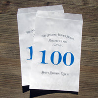 100th Birthday Favor Bags