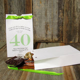 Our elegant adult birthday favor boxes make a perfect way to package sweet treats for your guests