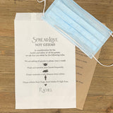 Baby Shower Face Mask Bags