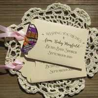 Baby Shower Lottery Ticket Favors