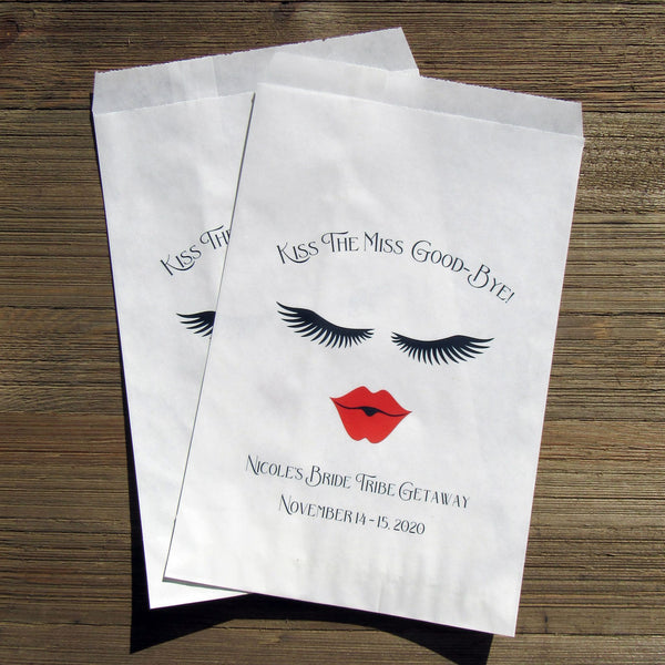bride tribe favor bags are perfect for that Bride Tribe Getaway