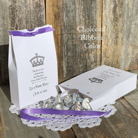 Baby Girl Baptism Favor Boxes