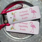 Flamingo Party Favors that can be personalized