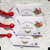 December Wedding Favors