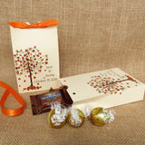 personalized fall wedding favor boxes