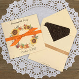 Fall Wedding Guest Favors