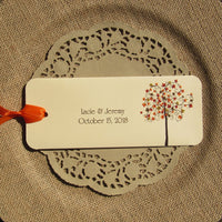 Fall Candy Bar Favors are the perfect wedding favors