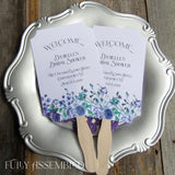 bridal shower fans Personalized