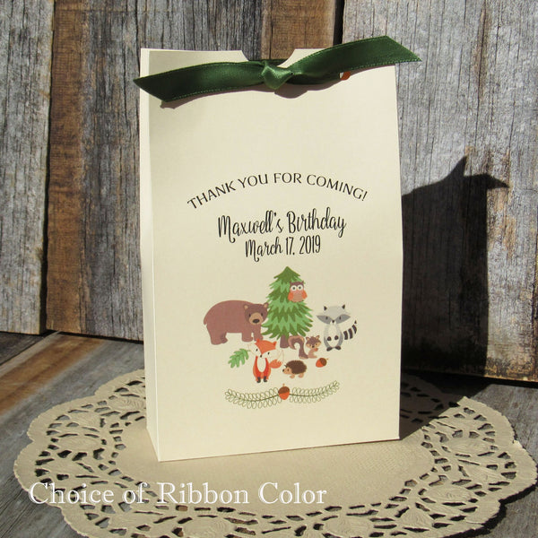 Woodland Birthday Party Favors