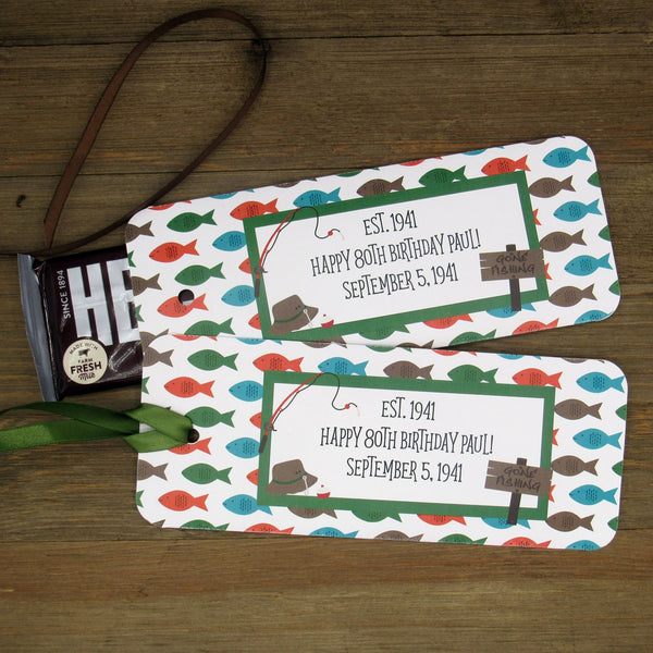 Fishing Birthday Favors