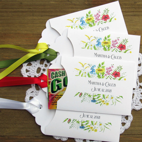 Floral Wedding Favors