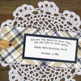 Personalized Adult Birthday Favors
