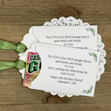 Irish Birthday Party Favors