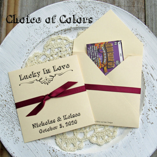 Rustic Wedding Guest Favors