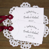 Wedding Lottery Ticket Favors