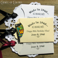 Adult Birthday Favors