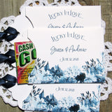 Navy Blue Wedding Favors