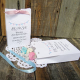 Personalized Gender Reveal Favor Boxes