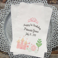 Princess Party Favor Bags