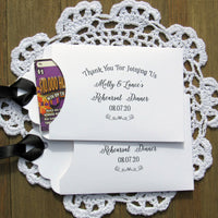 rehearsal dinner favors